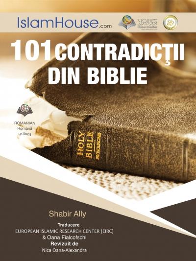 مائة وواحد تناقض واضح في الإنجيل - باللغة الرومانية